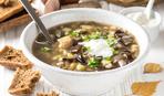 Вкусный суп с грибами и перловкой