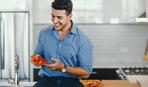 Заливная пицца-пирог из лаваша «Счастье холостяка»