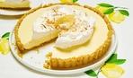 Лимонный пирог со сгущёнкой и сливочным кремом
