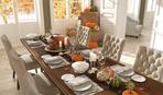 Как с помощью тыквы украсить праздничный стол