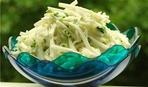 Что приготовить на 14 февраля: салат из кольраби с пармезаном под бальзамическим соусом