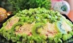 Салат на новогодний стол: изумрудный
