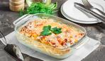 Вкусная идея для ужина: запекаем филе минтая с овощами