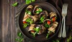 Блюдо дня: овощные рулеты по-французски