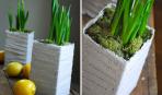 Как украсить горшок для вазона: 8 стильных идей