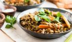 Секрет восхищения: чечевица с овощами
