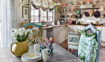 Кухонное окно в стиле прованс: 7 восхитительных идей
