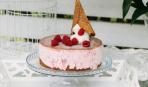 Десерт дня: эффектный торт из печенья и мороженого