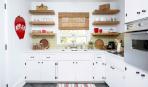 Необычные полки на кухне: 10 практичных идей
