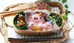 Завтраки на каждый день:  рисовая «свинка»