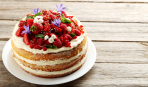 Десерт дня: бисквит с нежнейшим творожным кремом