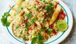Шедевр азиатской кухни: жареный рис с яйцом и овощами