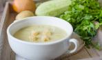 Блюдо дня: самый вкусный крем-суп из кабачков