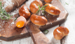Латышские пирожки из воздушного теста