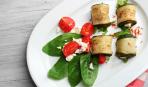 Блюдо дня: рулетики из кабачков с куриным мясом