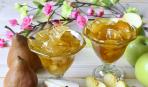 Дачные заготовки: яблочно-грушевое варенье с корицей
