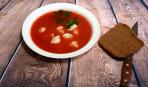 Осінній суп з помідорами та галушками «Карпатський»