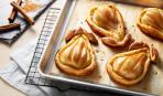 Десерт за пять минут: груши в тесте