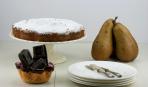 Осенняя выпечка: медовый пирог с грушами