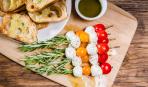 5 идей закусок для завтрака из сыра