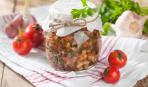 Закуска из баклажан: пошаговый рецепт