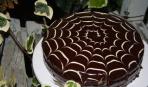 Хеллоуин: тыквенно-шоколадный торт «Паутинка»