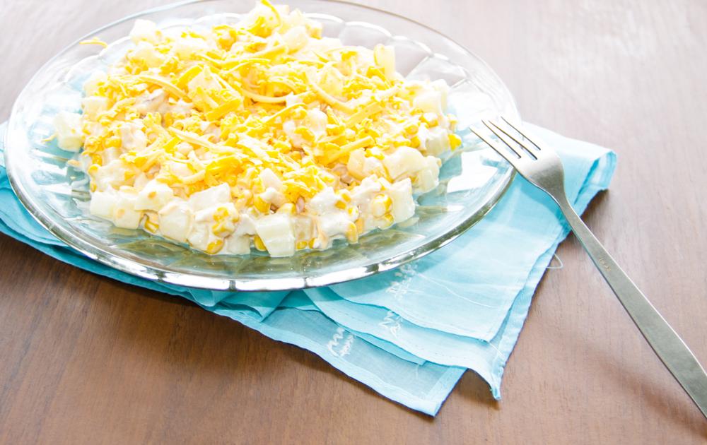 Салат ананасовый с картинками