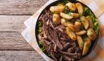 Жаркое из баранины с запеченным картофелем
