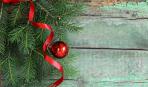 Новый год-2018: рождественская звезда из еловых веток