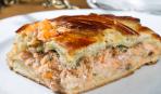 Новогодний шедевр: закусочный рыбный торт