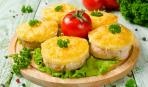 Куриное филе с ананасами под сыром