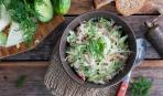 Новогодний салат «За 5 минут до полуночи»
