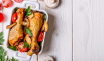 Оригинальное блюдо к новогоднему столу: цыпленок с грибами и языком