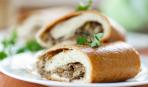 Вкусно и просто: картофельные рулетики с грибами