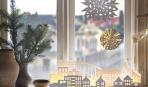 10 идей декора окон на Новый год своими руками