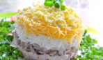 Салат «Балерина»: кулинарный рецепт