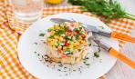 Новогодний деликатес: салат «Крабовье»