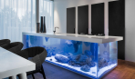 Как стильно вписать аквариум в интерьер
