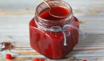 Соус из калины: пошаговый рецепт