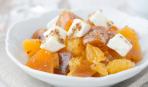 Простой и вкусный салат с хурмой «Персидский рассвет»