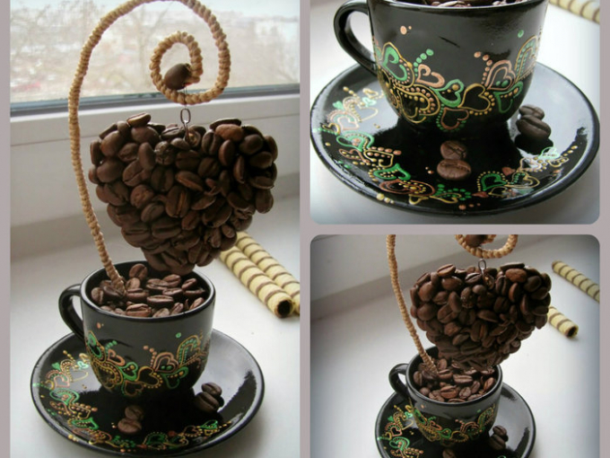 бы, как сделать поделку из чайной кружки фото несложный