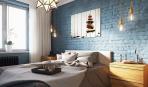Спальня в стиле лофт: 10 вариантов
