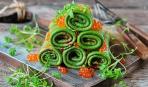 Масленица-2018: блины на плавленом сыре со шпинатом и лососем