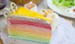 Блинный торт «Радужный»