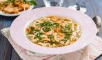 Фритатеннсуппе или Австрийский суп с блинами