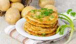Масленица-2018: картофельные блины с сыром