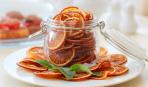 Оригинальный перекус: чипсы из апельсина