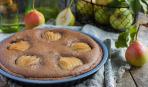 Постное меню: пирог с грушей и медом