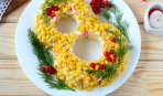 К праздничному столу: оригинальный салат на 8 марта
