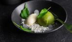 Современные десерты: щавелевая панна-котта